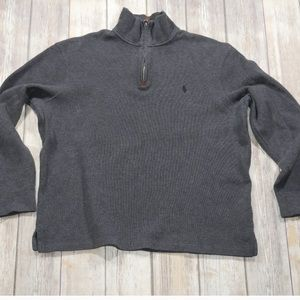 Polo Ralph Lauren Quarter Zip Sweatshirt L
